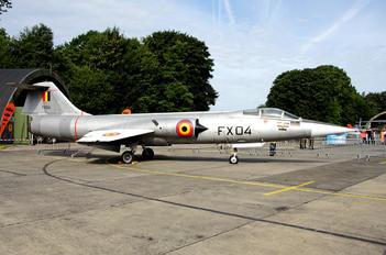 FX-04 - Belgium - Air Force Lockheed F-104G Starfighter