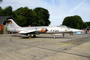FX-04 - Belgium - Air Force Lockheed F-104G Starfighter aircraft