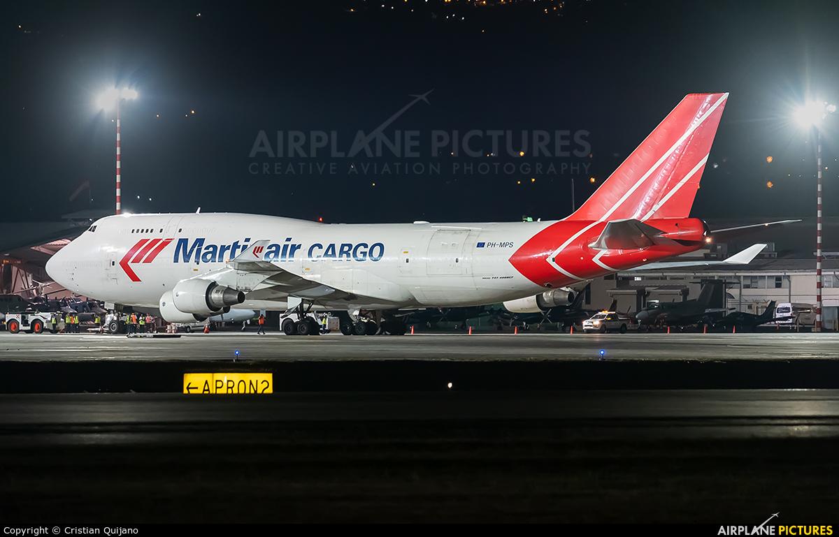 Martinair Cargo PH-MPS aircraft at San Jose - Juan Santamaría Intl