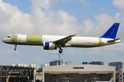 First Airbus A321P2F makes a test flight after conversion  title=