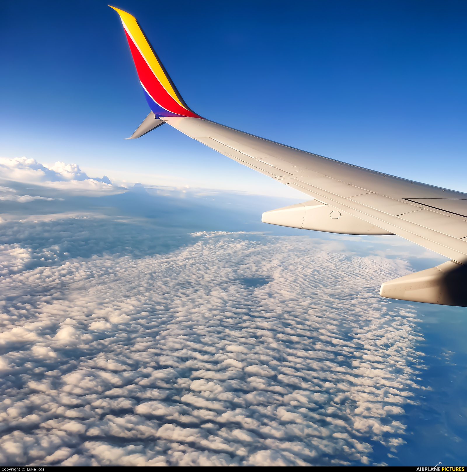 Southwest Airlines N8677A aircraft at In Flight - Texas