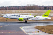 YL-AAP - Air Baltic Airbus A220-300 aircraft