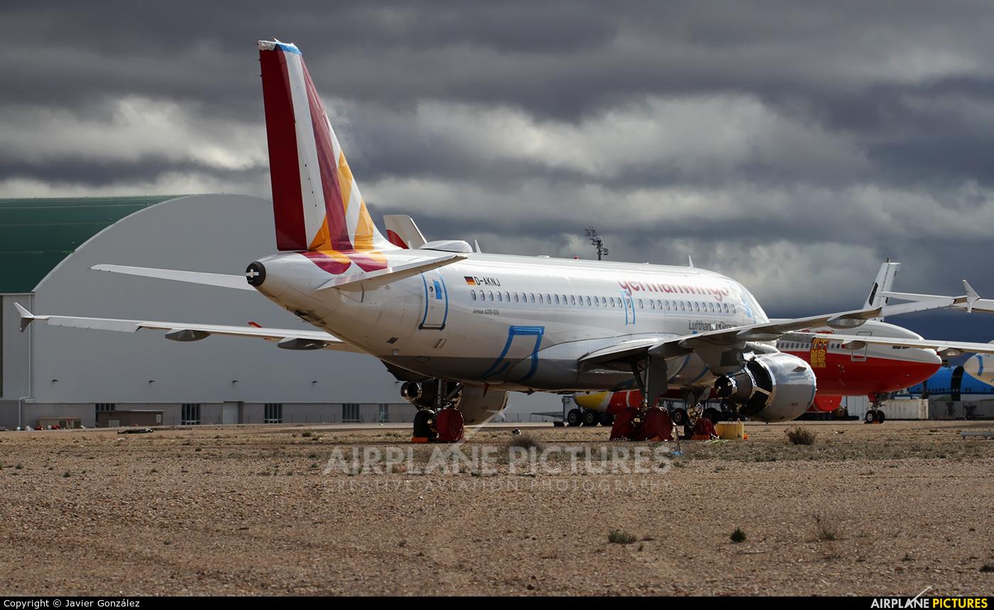 Germanwings D-AKNJ aircraft at Teruel