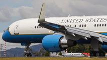 USAF Boeing C-32 visited San Jose title=
