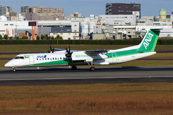 JA858A - ANA - All Nippon Airways de Havilland Canada DHC-8-400Q / Bombardier Q400