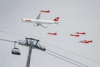 HB-IOO - Swiss Airbus A321
