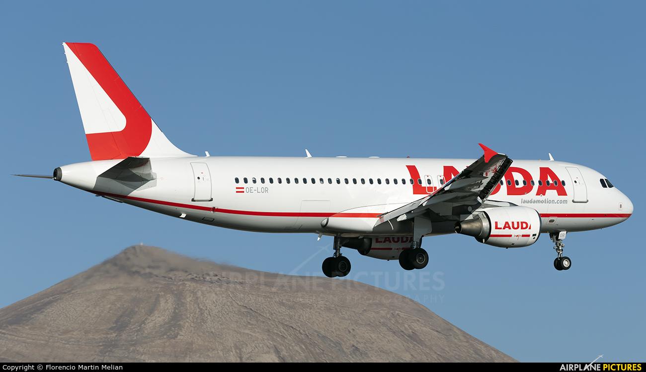 LaudaMotion OE-LOR aircraft at Lanzarote - Arrecife