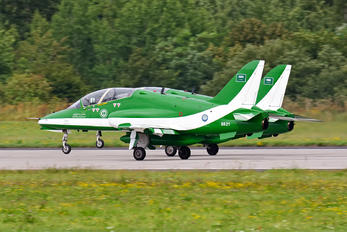 8821 - Saudi Arabia - Air Force: Saudi Hawks British Aerospace Hawk T.1/ 1A
