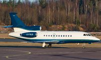 LX-GLD - Global Jet Luxembourg Dassault Falcon 900 series aircraft