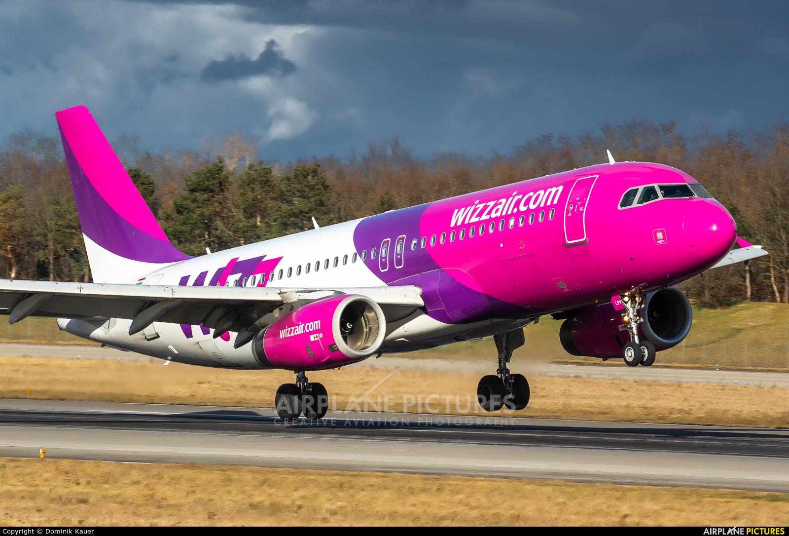 Wizz Air HA-LPV aircraft at Basel - Mulhouse- Euro