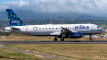 N655JB - JetBlue Airways Airbus A320 aircraft