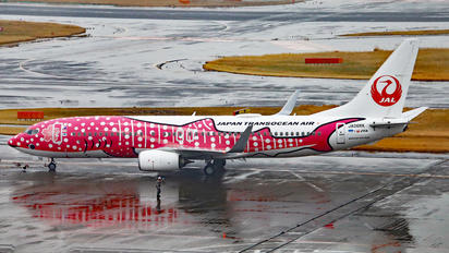 JA06RK - JAL - Japan Transocean Air Boeing 737-800