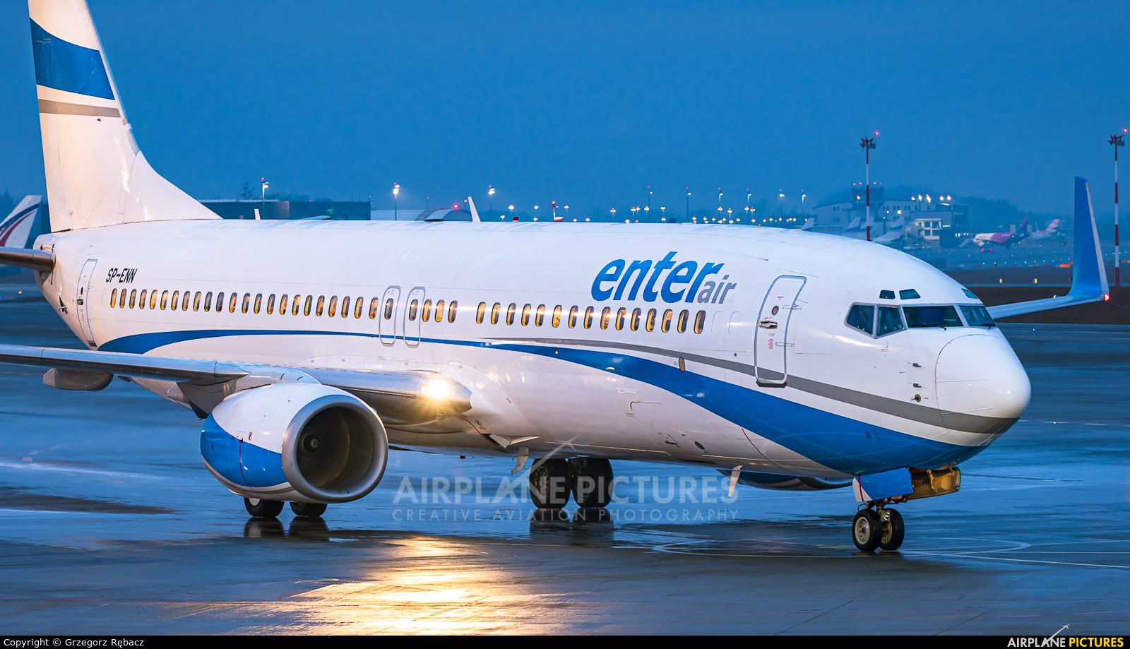 Enter Air SP-ENN aircraft at Katowice - Pyrzowice
