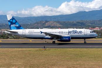 N656JB - JetBlue Airways Airbus A320