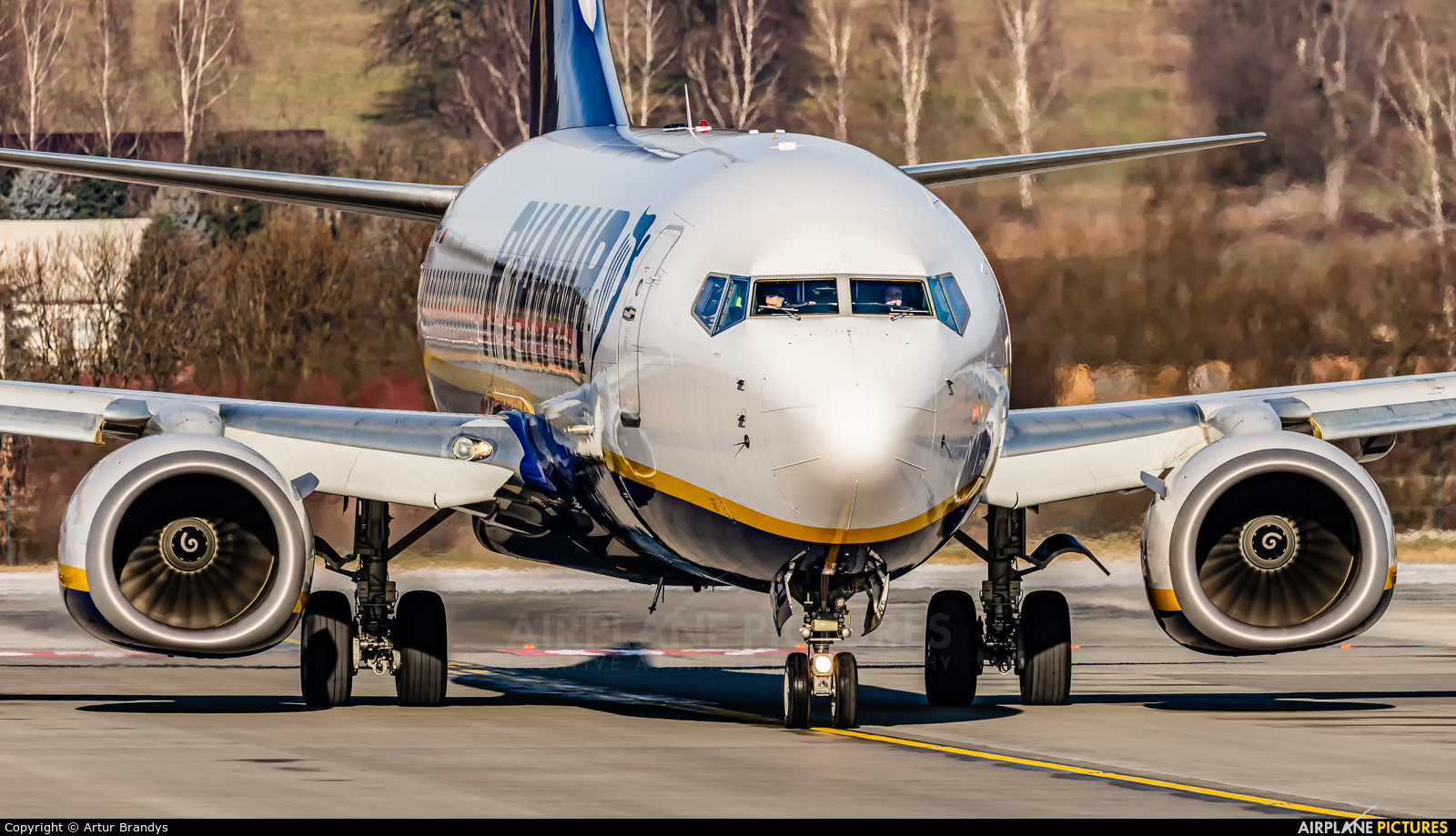 Ryanair Sun SP-RSZ aircraft at Kraków - John Paul II Intl