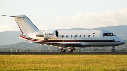 XA-SOR - Private Canadair CL-600 Challenger 601