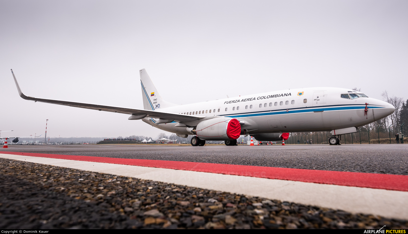 Colombia - Air Force FAC0001 aircraft at Zurich