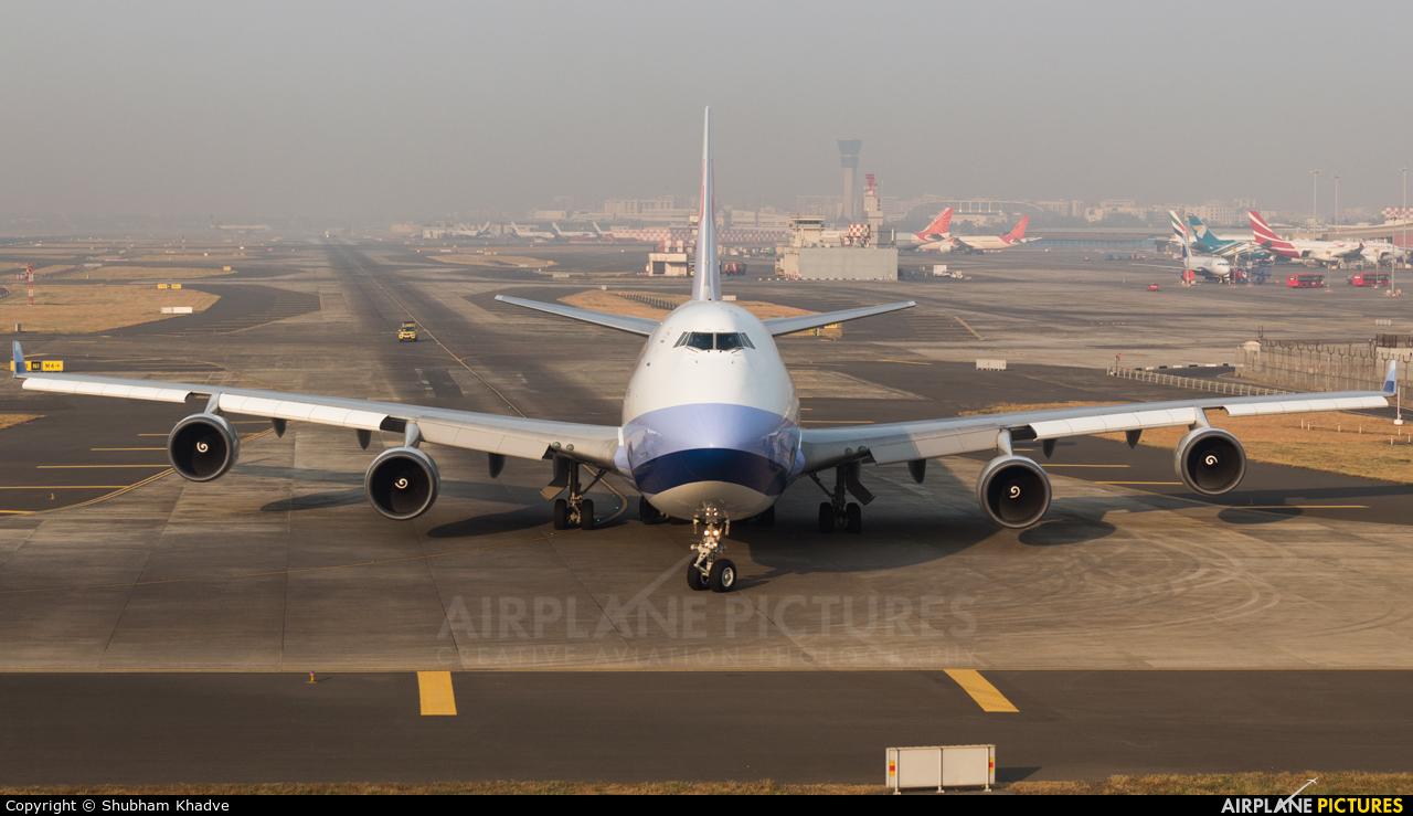 China Airlines Cargo B-18711 aircraft at Mumbai - Chhatrapati Shivaji Intl