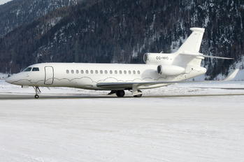 OO-HHO - Abelag Aviation Dassault Falcon 8X