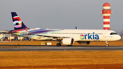 4X-AGN - Arkia Airbus A321 NEO