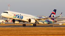 4X-AGN - Arkia Airbus A321 NEO aircraft