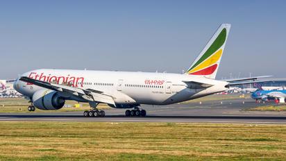 ET-ANO - Ethiopian Cargo Boeing 777-200LR