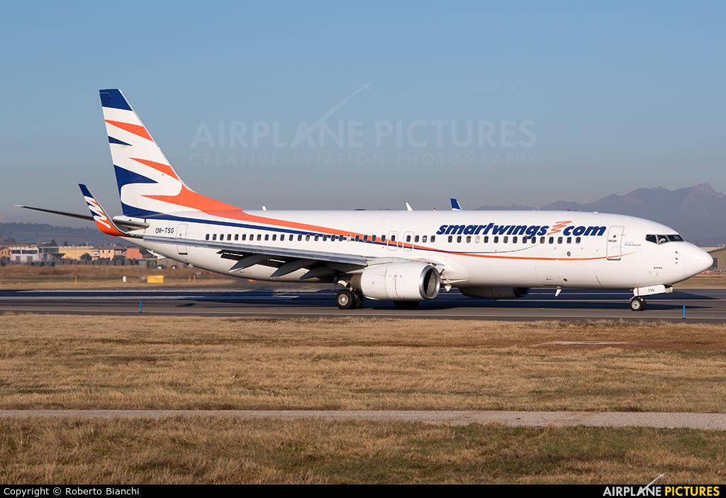 SmartWings OM-TSG aircraft at Verona - Villafranca