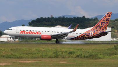 9M-LCH - Malindo Air Boeing 737-800