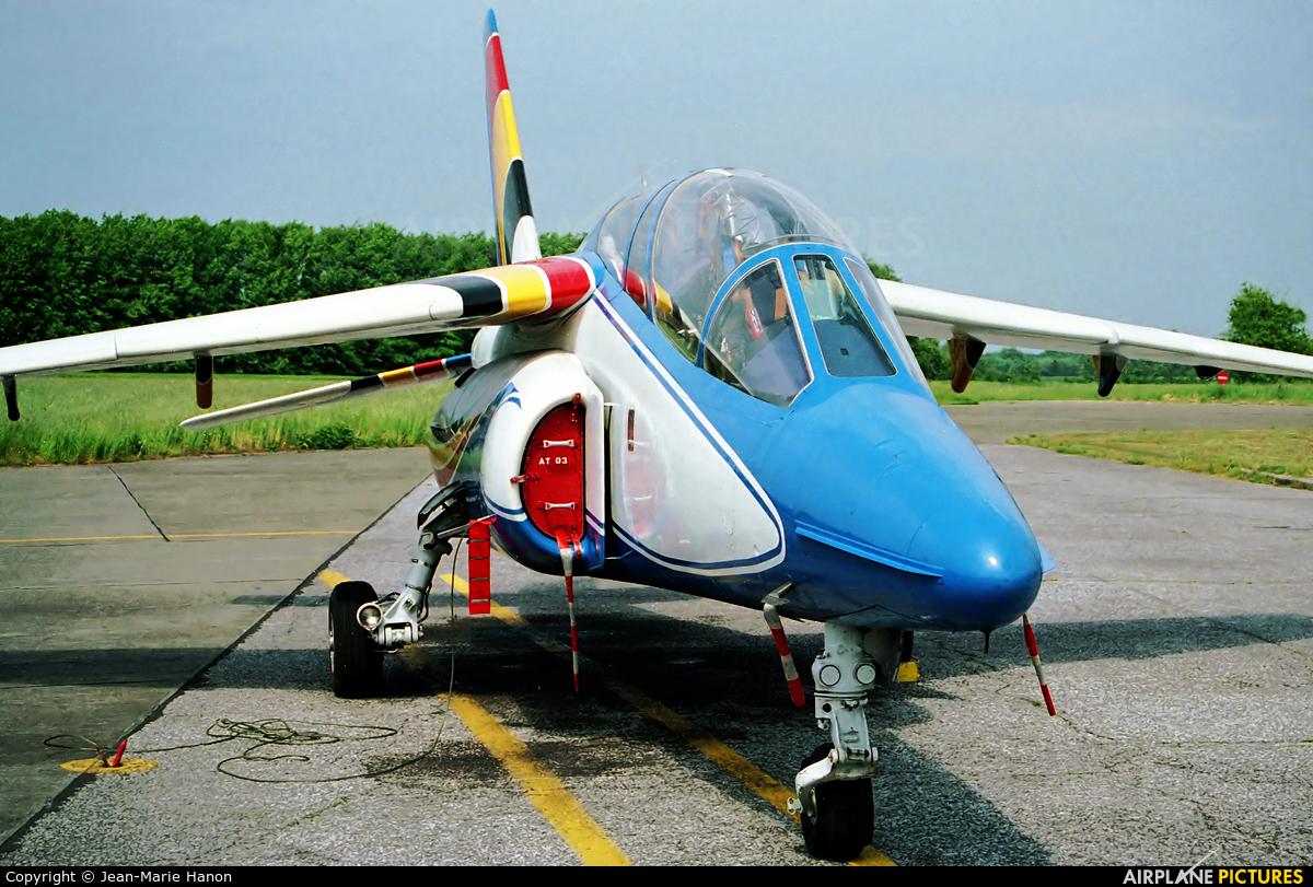 Belgium - Air Force AT03 aircraft at St Truiden/Bruste