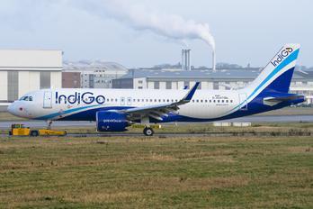 D-AUAT - IndiGo Airbus A320 NEO