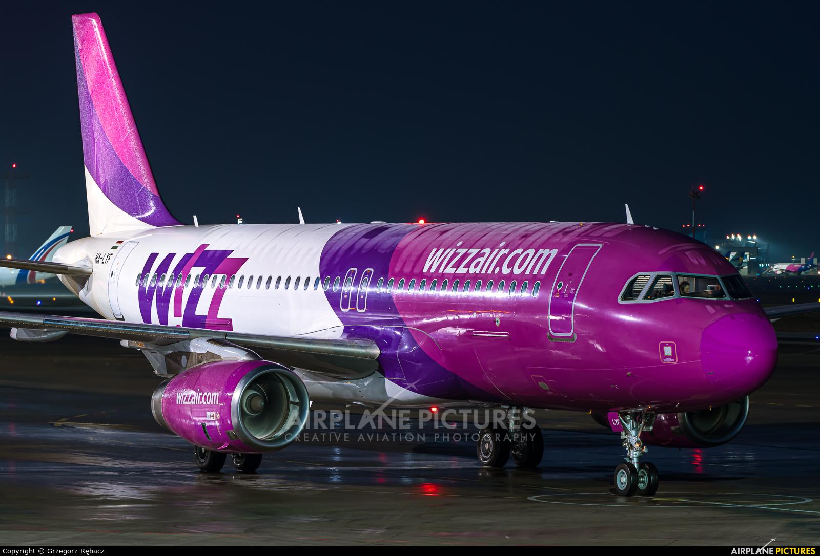 Wizz Air HA-LYF aircraft at Katowice - Pyrzowice