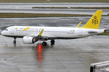 V8-RBG - Royal Brunei Airlines Airbus A320 NEO