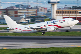 YR-CBK - Cobrex Trans Boeing 737-300