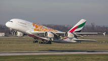 A6-EET - Emirates Airlines Airbus A380 aircraft