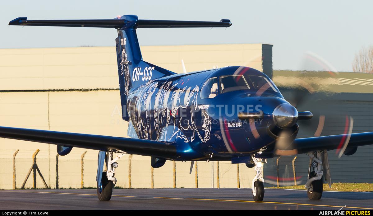 FLY 7 Executive Aviation SA OH-SSS aircraft at Biggin Hill