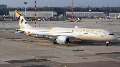 A6-BLW - Etihad Airways Boeing 787-9 Dreamliner