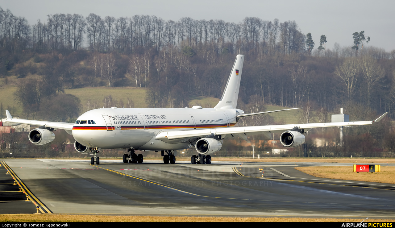 Germany - Air Force 16+02 aircraft at Kraków - John Paul II Intl