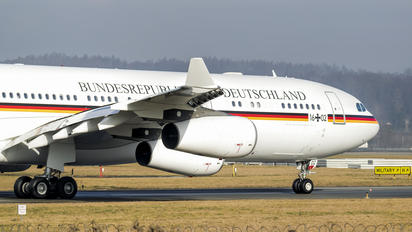 16+02 - Germany - Air Force Airbus A340-300