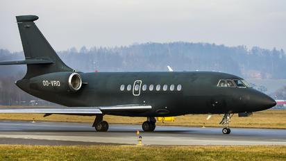 OO-VRO - Abelag Aviation Dassault Falcon 2000LX