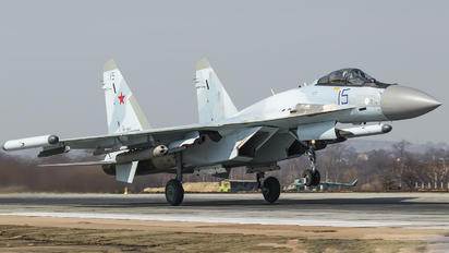 RF-95007 - Russia - Air Force Sukhoi Su-35S