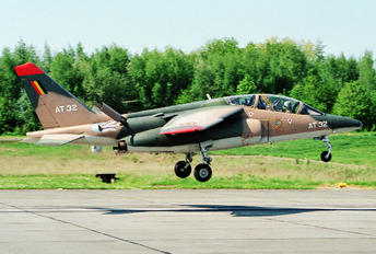 AT32 - Belgium - Air Force Dassault - Dornier Alpha Jet 1B