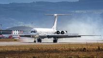 Rada Airlines Ilyushin Il-62 visited Basel title=