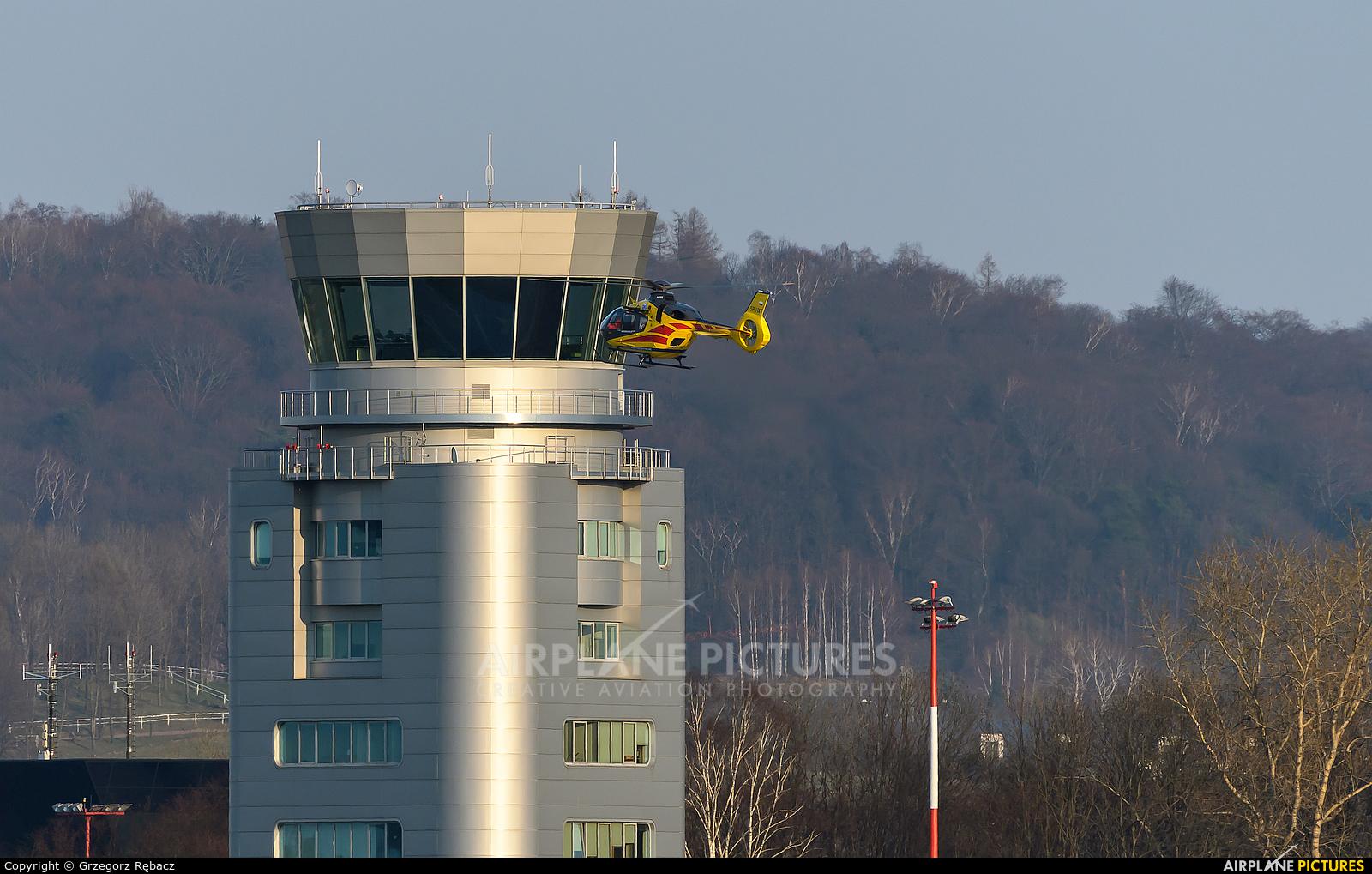 Polish Medical Air Rescue - Lotnicze Pogotowie Ratunkowe SP-HXT aircraft at Kraków - John Paul II Intl