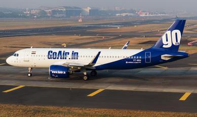 VT-WGG - Go Air Airbus A320 NEO