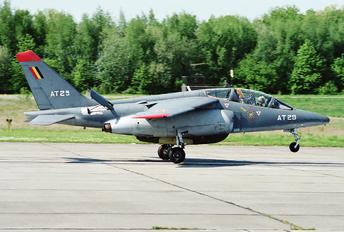 AT29 - Belgium - Air Force Dassault - Dornier Alpha Jet 1B