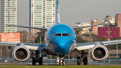 LV-GVA - Aerolineas Argentinas Boeing 737-800