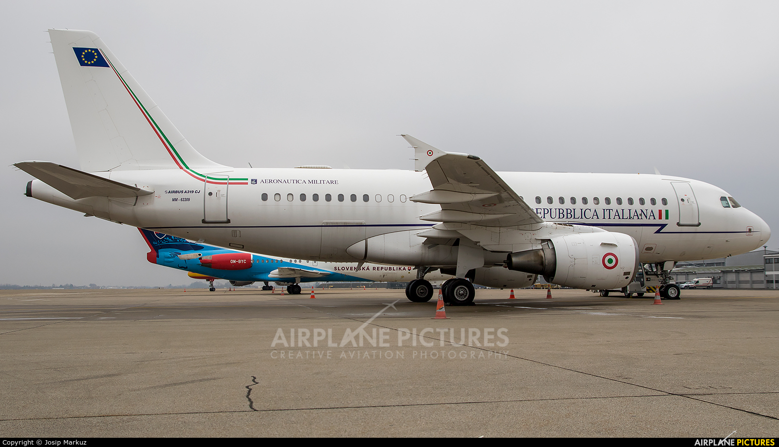 Italy - Air Force MM62209 aircraft at Zagreb