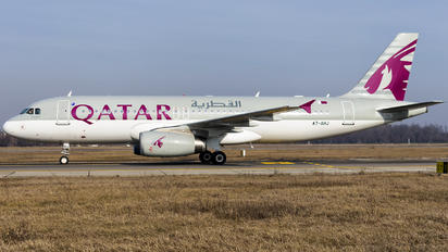 A7-AHJ - Qatar Airways Airbus A320