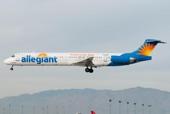 N424NV - Allegiant Air McDonnell Douglas MD-82