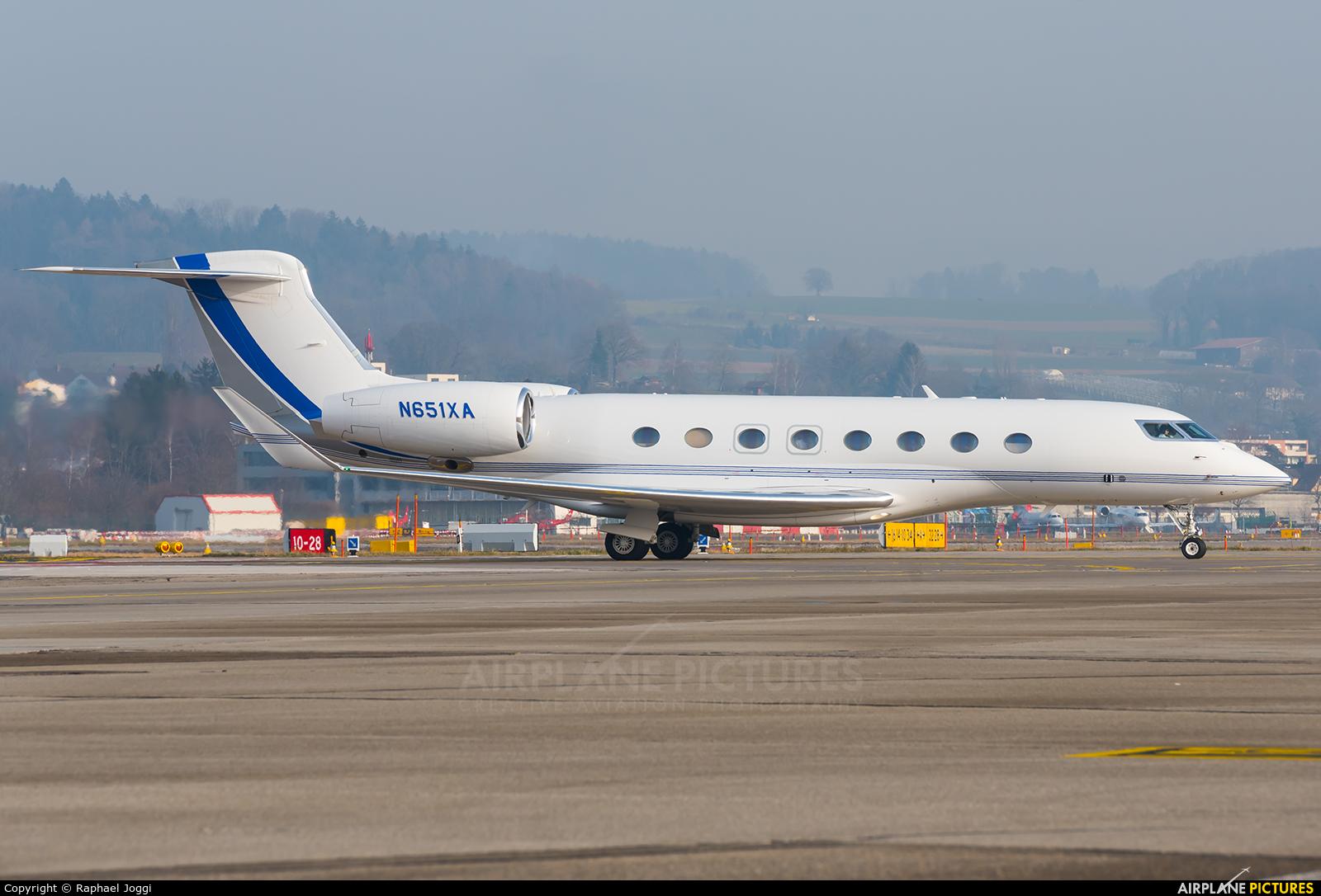 Saudi Aramco Aviation N651XA aircraft at Zurich